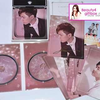張敬軒HITS 2013環球唱片《PINK DAHLIA》CD+DVD 極旱有親筆簽名CD大碟 絕版CD 100%正版 極具收藏價值
