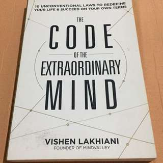 Code of the Extraordinary Mind Book