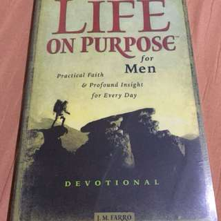 Life of Purpose Mens Book