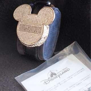 香港迪士尼米奇老鼠頭形電子錶