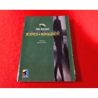 The Pocket International Encyclopaedia of Business & Management