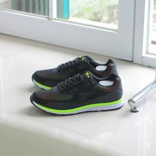 Diadora Giano Black Green