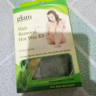 Glamworks and Candy wax hair removal bundle