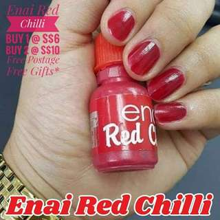 1. 💅Enai Red Chilli💅(Halal)