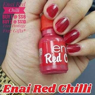1. 💅Enai Red Chilli💅(Halal)
