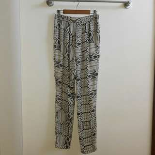 Promod Printed Trousers
