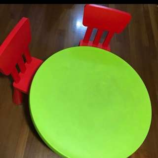 Ikea Kid Table and Chairs Bundle