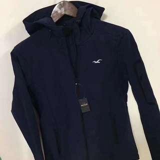 (📣秒殺1件XS) Hollister All Weather Fleece Lined Jacket 有帽保暖外套 #Navy