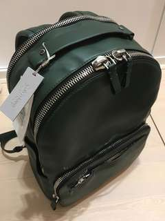 Calvin Klein Platinum - real leather backpack