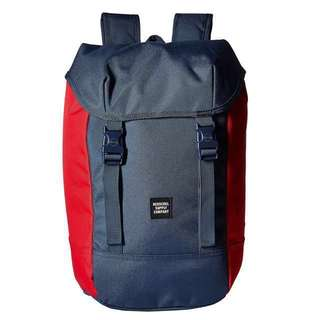 INSTOCK! Authentic Brand New Herschel Iona Backpack Navy Blue/Red
