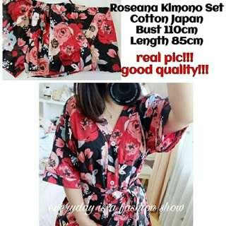 Roseana Kimono Set
