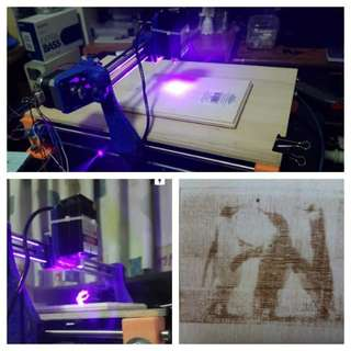 Small CNC Router for laser engraver