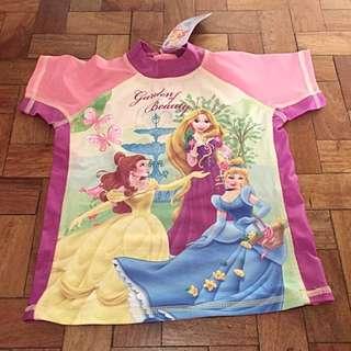 Disney Princess Rash Guard
