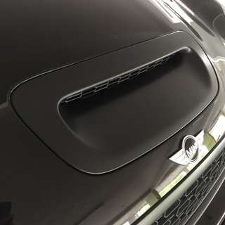 Mini CooperS Plastidip Plasti dip spraying services