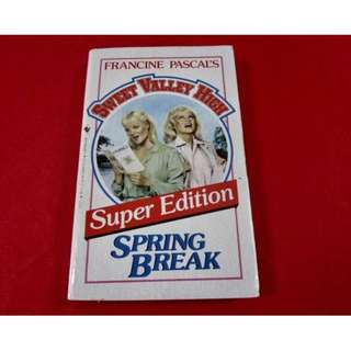 Sweet Valley High: Spring Break (Super Edition)