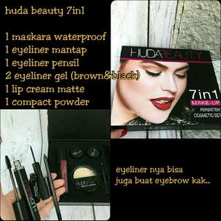 Huda beauty 7in1 cosmetic