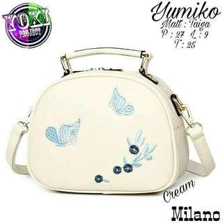 Yumiko Milano Bag | Tas Selempang Hand Bag Tas Wanita Murah