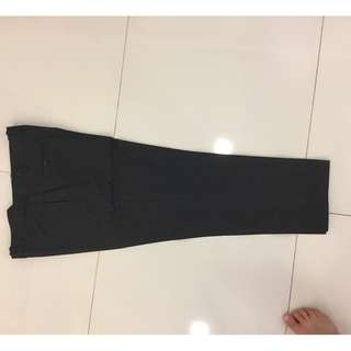 Charcoal business pants