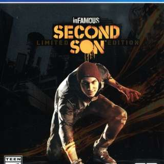 infamous second sons ps4