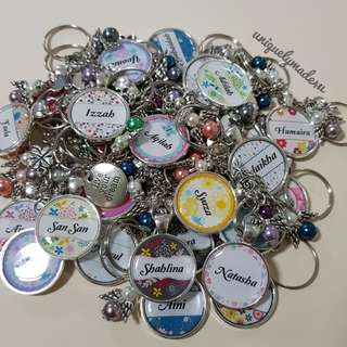 Personalized gifts @ Keychain (reserved)