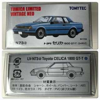 TomyTec Tomica LV-N73D Toyota Celica 1800GT-T