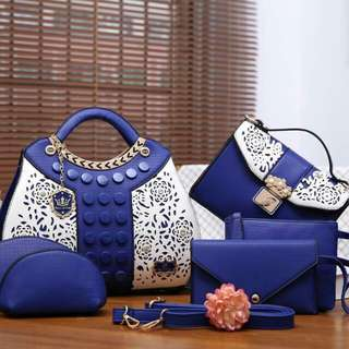Paris Hilton Set 6 in 1 (Blue/Grey)