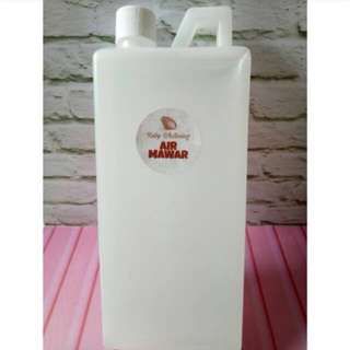 Rose water 1L alami/air mawar 1L