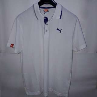 "Puma ""Dry Cell"" Polo White"