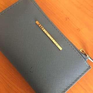 stradivarius blue wallet