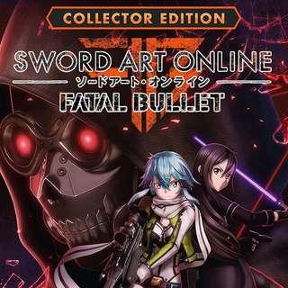 Sword Art Online: Fatal Bullet Collector's Edition