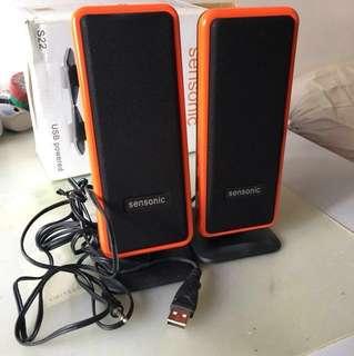 USB powered speaker