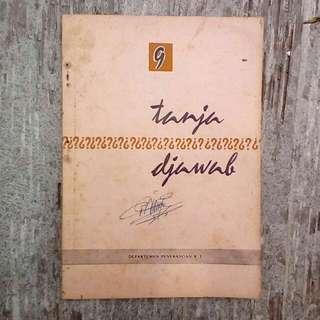 Buku Kuno: Tanja Djawab Vol.9