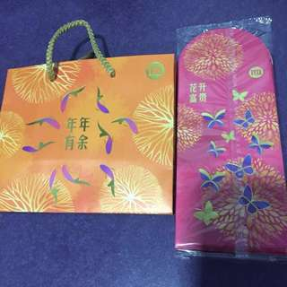 M1 CNY 2018 angpows & bag