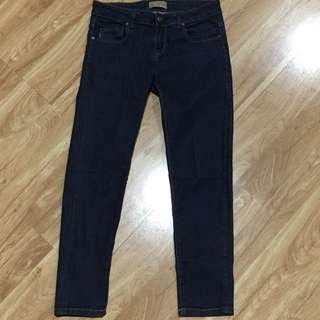 Zara trf dark jeans
