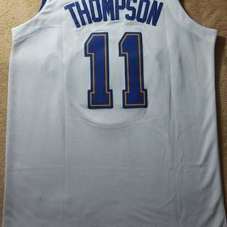 Klay Thompson Jersey throwback