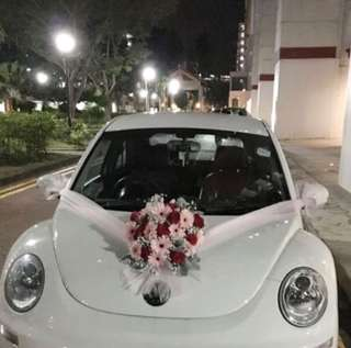 Bridal Car Deco / Wedding Decorations