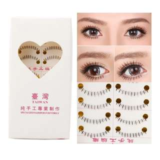 Taiwan Bottom Eyelash Made By Hand Entirely [ Ready stock ]