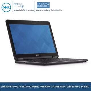 """DELL Latitude E7440 Notebook 14.1""""Core i5 4310U#2.00GHz 4GB 500GB Win 10 Pro"""
