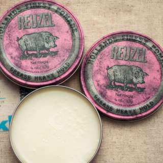 WOW!! TODAY ORDER TODAY FREE DOORSTEP DELIVERY[REUZEL PINK POMADE GREASE HEAVY HOLD]