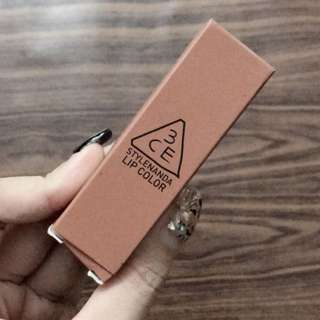 3CE Lipstick (Matte Row)