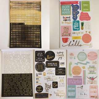 SALE 🔥 Book of Colorful Tumblr Stickers