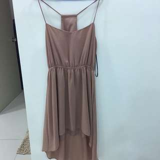 Forever 21 Dress In Nude Color
