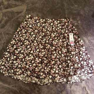 Floral skirt from Garage