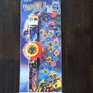 Birthday Party Gifts: Transformers Projector Watch
