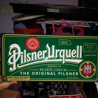 Signage For Sale PilsnerUrquell 1842