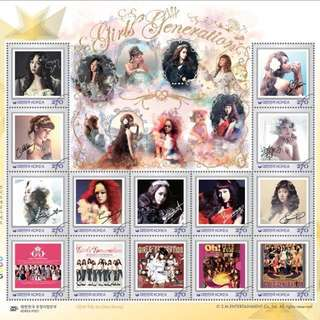 Girls' Generation SNSD - KOREA POST OFFICIAL STAMP [SPECIAL LIMITED EDITION] : Free Shipping!!!
