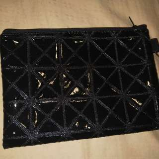 Black cosmetic bag/pencil case
