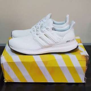 NEW ADIDAS ULTRA BOOST 2.0 TRIPLE WHITE