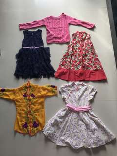 Assorted dresses (all)