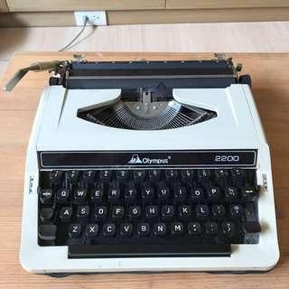 Olympus 打字機降價